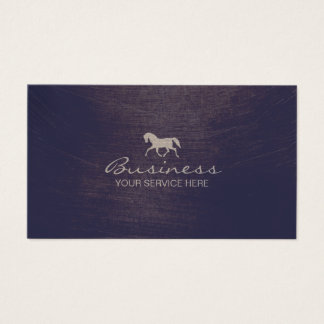 Equine Horse Riding Equestrian Business Card