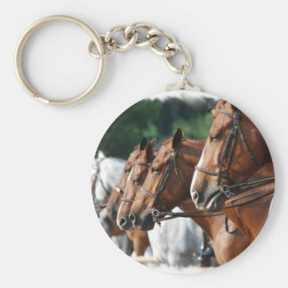 Equine Horse Show Keychain