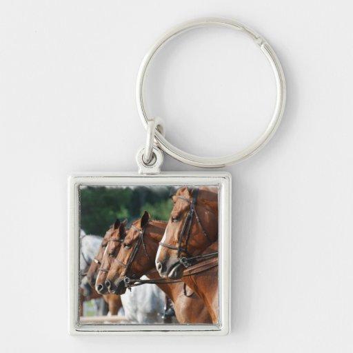 Equine Horse Show Keychain