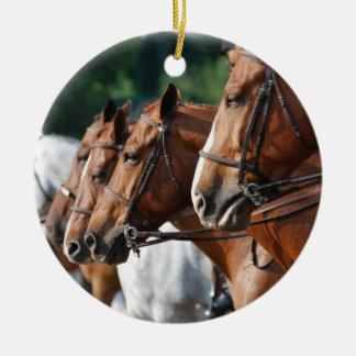 Equine Horse Show Ornament
