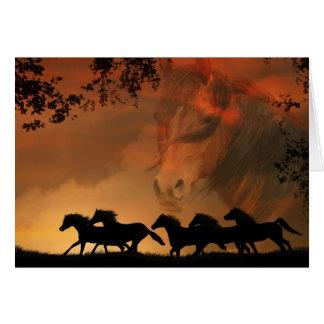 Equine - Horse Sympathy Card