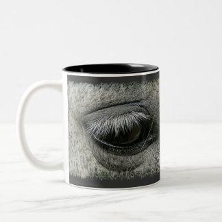 Equine-lover Horse's Eye Photo Coffee Mug