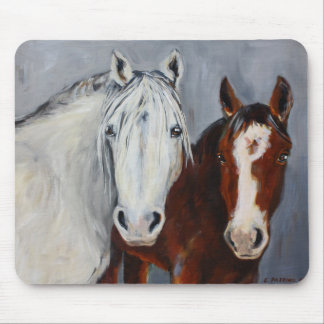 Equine Voices Mystic and Wyatt Mouse Pad