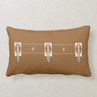 'Equinox' Arts & Crafts- Any Color! Lumbar Cushion