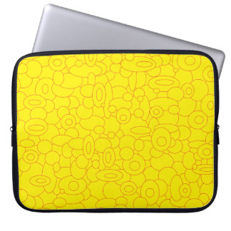 Equipment covering Circles Laptop Sleeve
