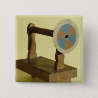 Equipment for Theory of Colours 15 Cm Square Badge
