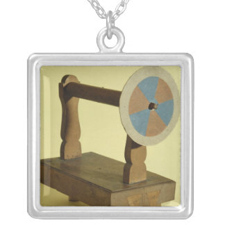 Equipment for Theory of Colours Silver Plated Necklace