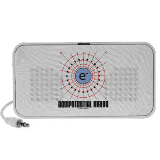 Equipotential Inside (Electron Equipotential) Travelling Speakers
