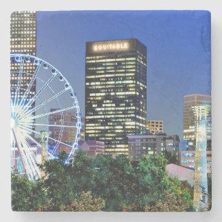 Equitable Building, Centennial Park, Atlanta Stone Coaster