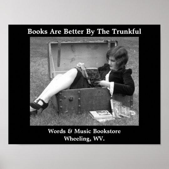 er books bookstore wheeling west virginia poster