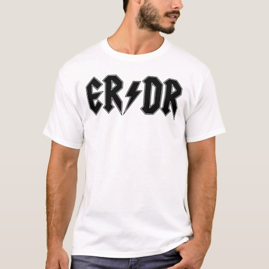 ER/DR Classic Men's on Light T-Shirt