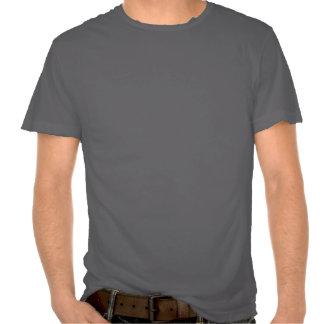 ER DR Distressed Stroke on Black Tee Shirt
