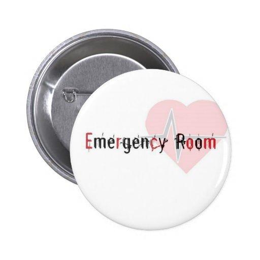 ER logo 6 Cm Round Badge
