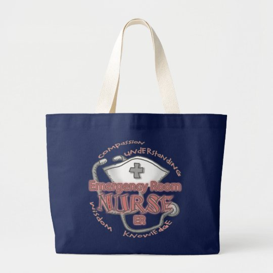 ER Nurse Axiom Large Tote Bag