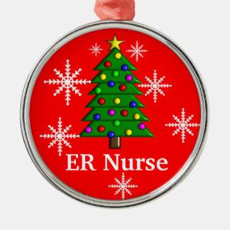 ER Nurse Christmas Tree Ornament