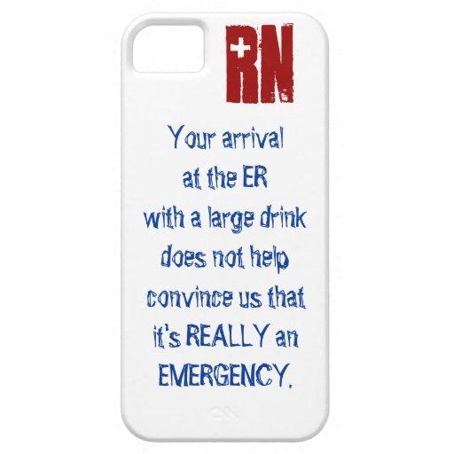 ER Nurse iPhone5 case iPhone 5 Case