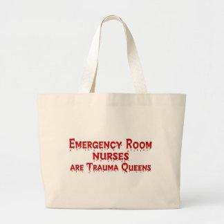ER Nurse Jumbo Tote Bag