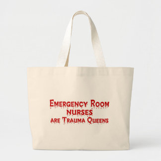 ER Nurse Large Tote Bag