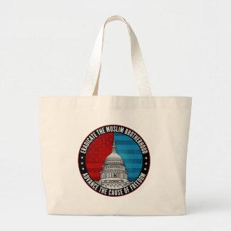 Eradicate The Muslim Brotherhood Tote Bag
