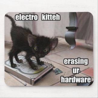 erase kitty mouse mat
