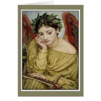 Erato, Muse of Lyric Poetry Greeting Card