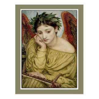 Erato, Muse of Lyric Poetry Postcard