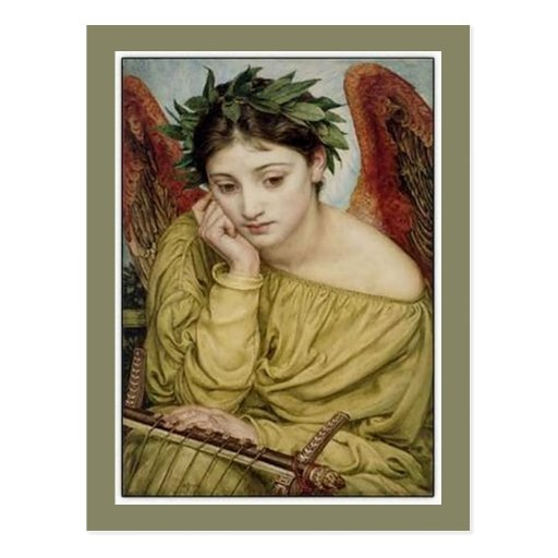 """""""Erato, Muse of Lyric Poetry"""" Post Cards"""