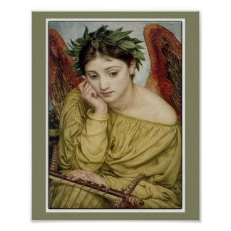 """""""Erato, Muse of Lyric Poetry"""" Posters"""