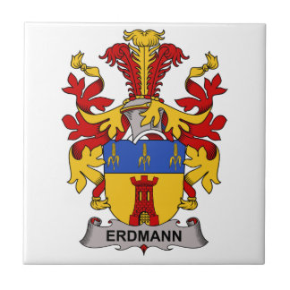 Erdmann Family Crest Tile