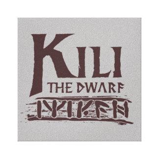 Erebor - Kili Name Canvas Print