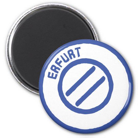 Erfurt 6 Cm Round Magnet
