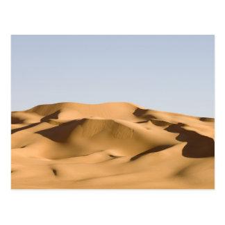 Erg Awbari, Sahara desert, Fezzan, Libya. 2 Postcard