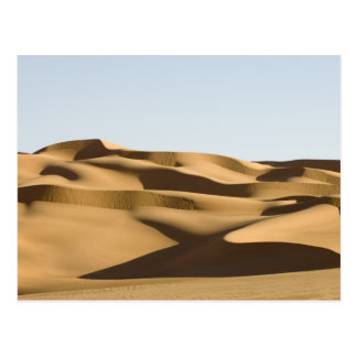 Erg Awbari, Sahara desert, Fezzan, Libya. 3 Postcard