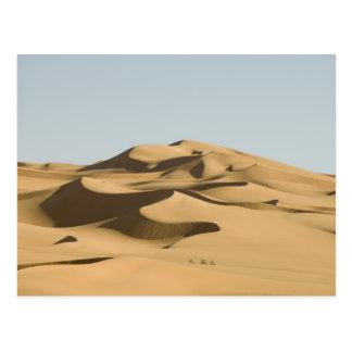 Erg Awbari, Sahara desert, Fezzan, Libya. 4 Postcard