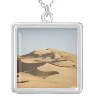 Erg Awbari, Sahara desert, Fezzan, Libya. 4 Silver Plated Necklace