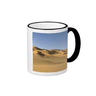 Erg Awbari, Sahara desert, Fezzan, Libya. 5 Ringer Mug