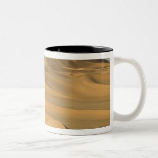 Erg Awbari, Sahara desert, Fezzan, Libya. Two-Tone Coffee Mug