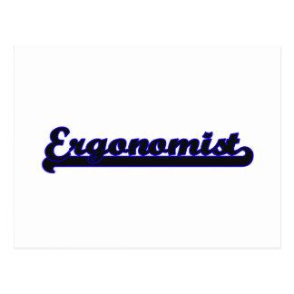 Ergonomist Classic Job Design Postcard