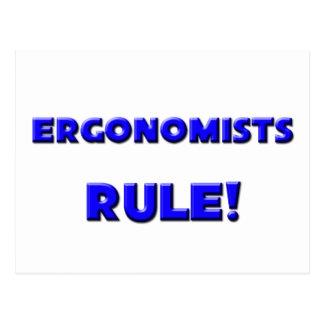 Ergonomists Rule! Postcard