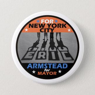 Eric Armstaed NYC Mayor 2017 7.5 Cm Round Badge