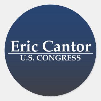Eric Cantor U.S. Congress Round Sticker
