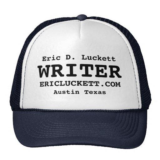 Eric D. Luckett WRITER Trucker Cap Hats