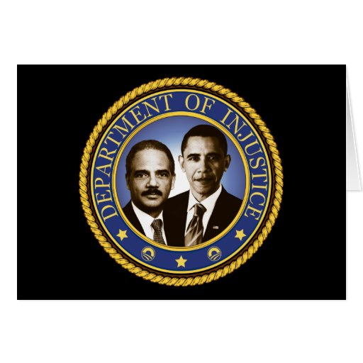 Eric Holder and the Department of Injustice Cards