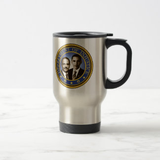 Eric Holder and the Department of Injustice Stainless Steel Travel Mug