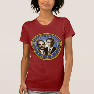 Eric Holder and the Department of Injustice Tshirt