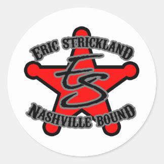 Eric Strickland Nashville Bound Sticker