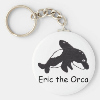 Eric the Orca Keychain