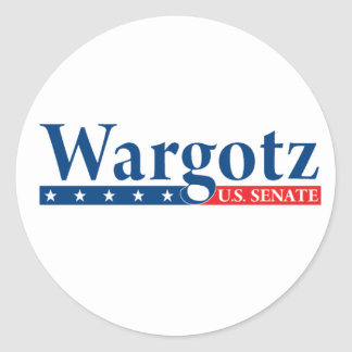 Eric Wargotz 2010 Stickers