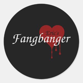 Eric's Fangbanger Round Sticker