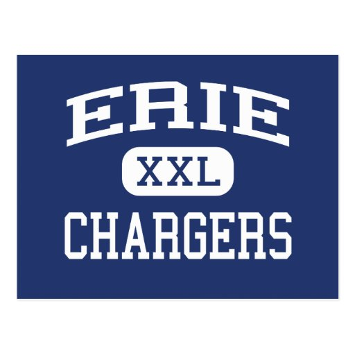Erie Chargers Middle School Erie Illinois Postcards